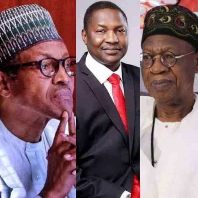 JUST IN: Buhari, Malami, Lai Mohammed Risk US And UK Visa Ban