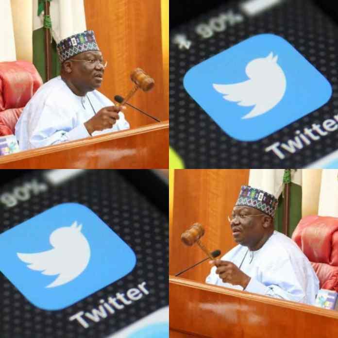 BREAKING: Senate President Ahmad Lawan Kicks Against #TwitterBan