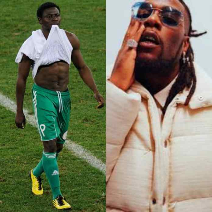 REVENGE? Obafemi Martins' Boys Allegedly Beat Burna Boy At A Club
