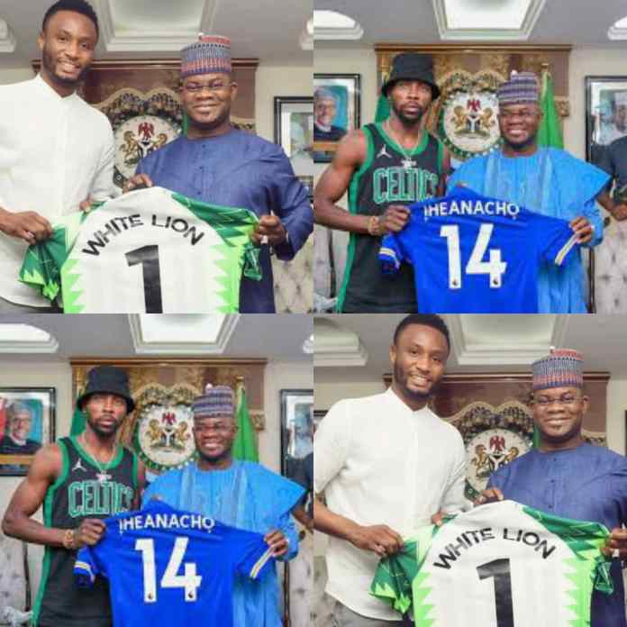 Unlike Mikel Obi, Iheanacho Attacked For Visiting Governor Yahaya Bello