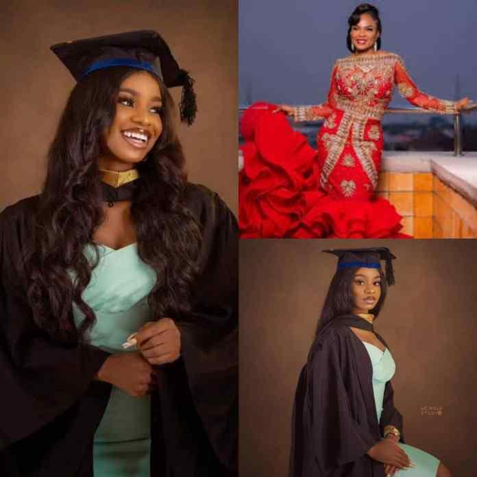 Iyabo Ojo Reacts As Her Daughter Graduates From Babcock [PHOTOS]