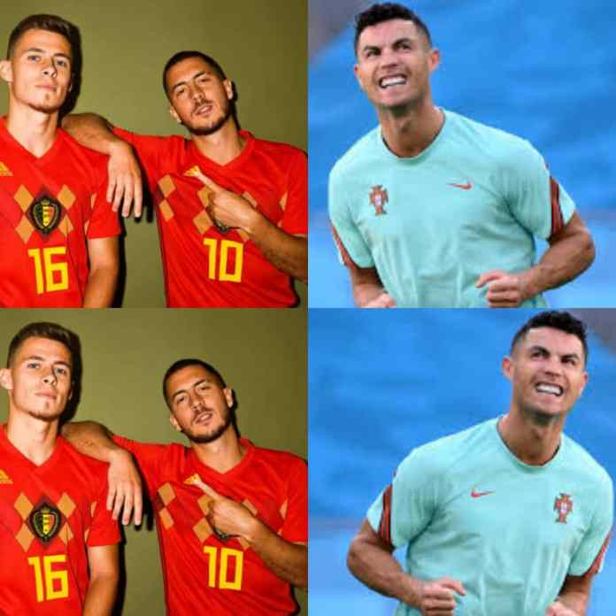 BREAKING: Hazard Knocks Out Cristiano Ronaldo And Portugal At #Euro2020