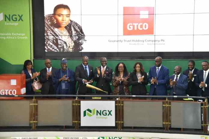 BREAKING: NGX Welcomes Guaranty Trust Holding Company Plc with Closing Gong Ceremony