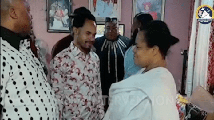 Watch Moment Prophet Odumeje Visits TB Joshua's Family