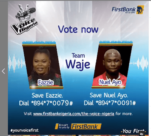 VIDEO: How 6 Finalists Will Emerge From FirstBank's Sponsored The Voice Nigeria Season 3 Second Live Show