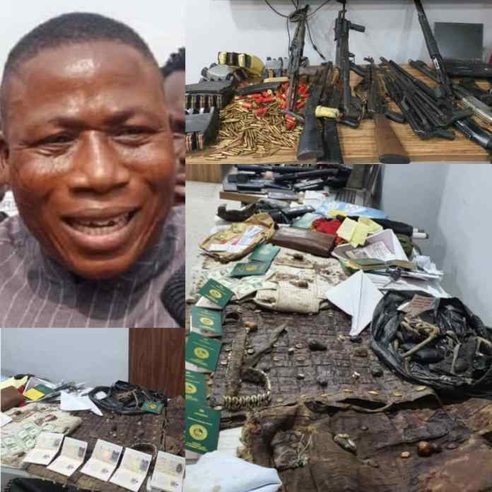 Finally, DSS Reveals Identity Of Igboho Allies Arrested [SEE FULL LIST]