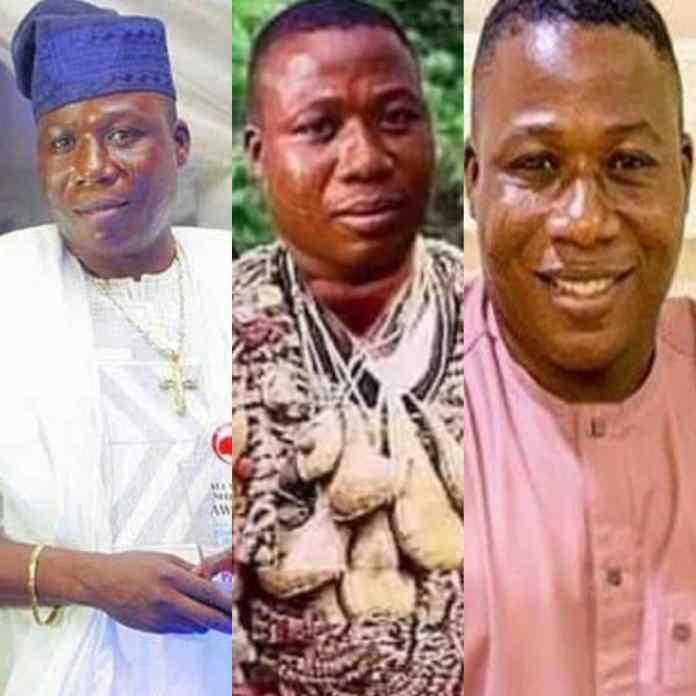 BREAKING: Sunday Igboho Reacts To Arrests By DSS At Guru Maharaji