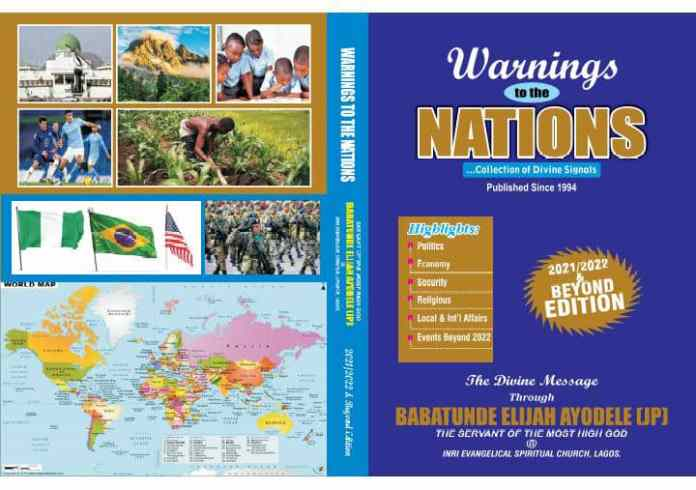 5 African Presidents To Receive 27th Edition Of Primate Ayodele's Annual Prophecy Book 'Warnings To The Nations'