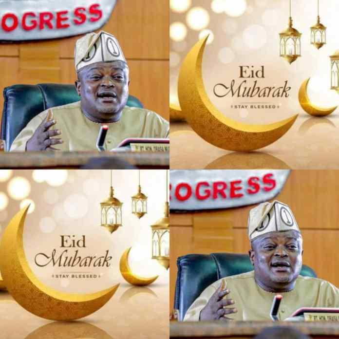 #EidelKabir: Speaker Mudashiru Obasa Pleads For Peace In Nigeria