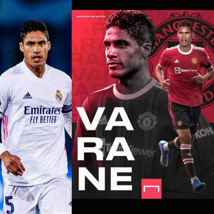 DONE DEAL!!! Real Madrid Raphael Varane Joins Manchester United
