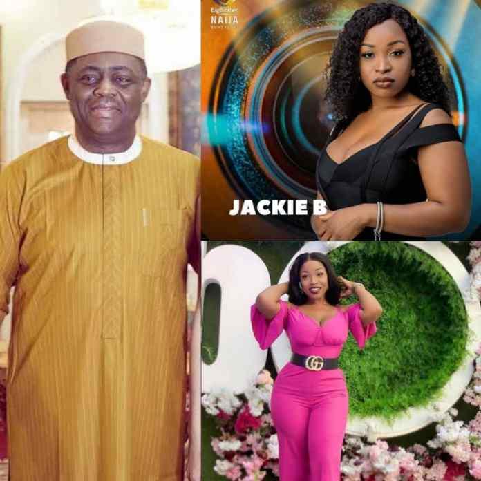 Shine Ya Eye: FFK Reacts To BBNaija's Jackie B As Ex-Senator's Daughter