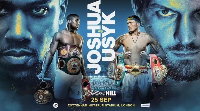 ITS OFFICIAL!!! Joshua To Defend Heavyweight Titles Against Usyk September