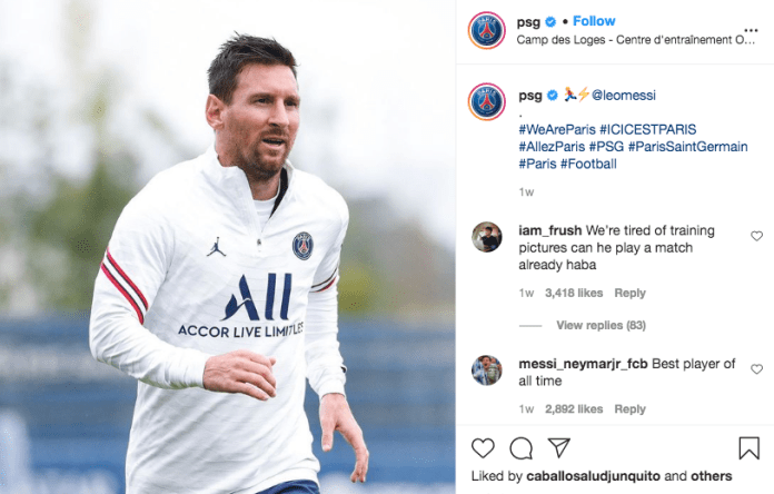 BREAKING: Lionel Messi Makes PSG Squad For The First Time [SEE FULL SQUAD]