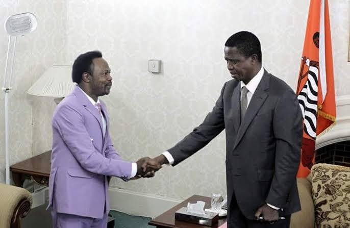 VIDEO: Prophet Joshua Iginla's Prophecy On Winner of Zambia Presidential Election
