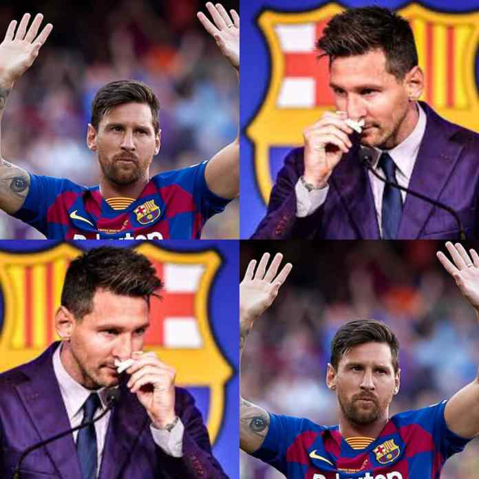 ITS OFFICIAL!!! Lionel Messi Agrees Two-Year Contract Worth £500000-Per-Week With PSG