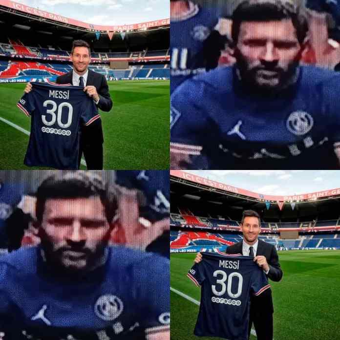 HAPPENING NOW!!! Paris Saint Germain Sell Out Lionel Messi's Shirt