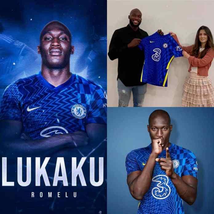 BREAKING: Champions Of Europe, #Chelsea Re-Sign Romelu #Lukaku [PHOTOS]