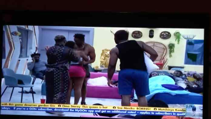 Moment #BBNaija Angel Picked #Cross As Her Crush And Kissed Him [VIDEO]