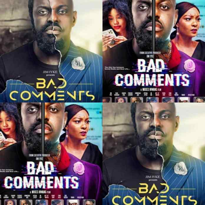 BREAKING: Jim Iyke Bad Comments Movie For Premier Today