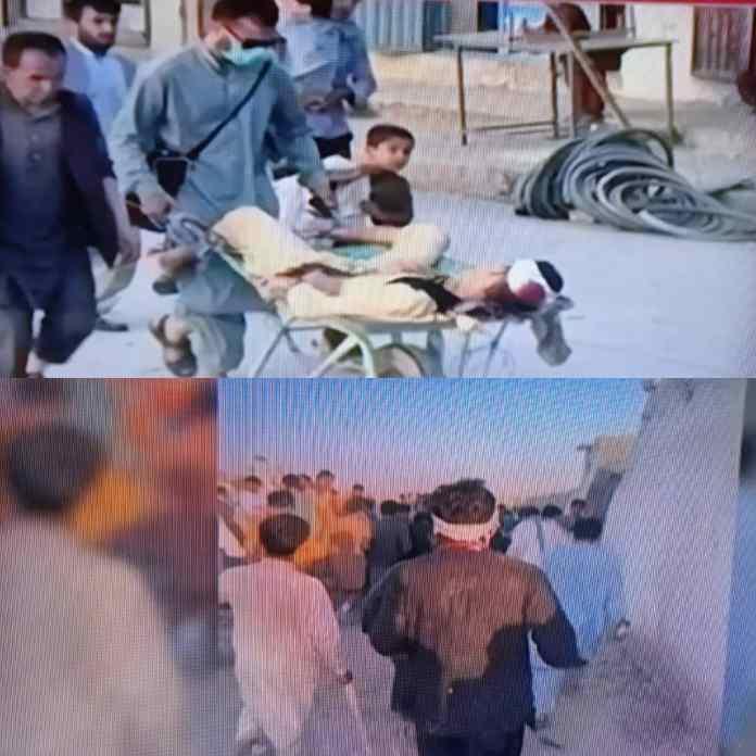 BREAKING: Casualties As Massive Bomb Explosion Rocks Kabul Airport In Afghanistan