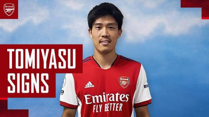 #TransferDeadlineDay: Arsenal Sign Japanese Defender Takehiro Tomiyasu