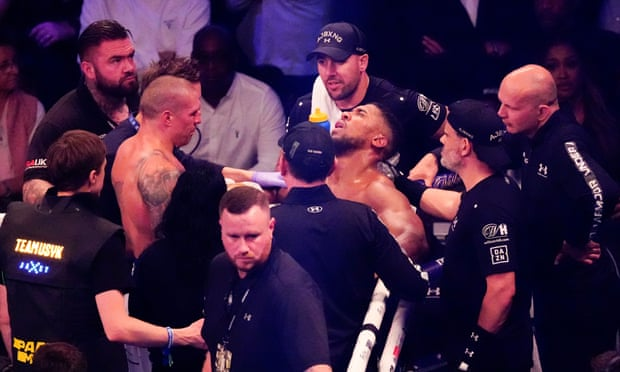 What Anthony Joshua Said After Loosing 4 World Titles To Oleksandr #Usyk