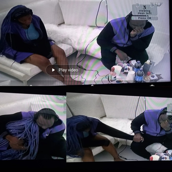 BREAKING: Pere And #BBNaija Angel Returns To Biggie's House To Contest For N90 Million Prize [VIDEO]