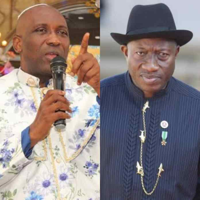 2023 ELECTIONS: Primate Ayodele Send Strong Waring To Goodluck Jonathan Over APC Presidential Ticket