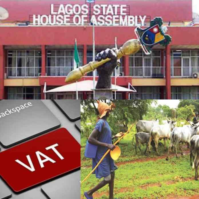 BREAKING: Open Grazing And VAT Bills Scale Second Reading At Lagos Assembly