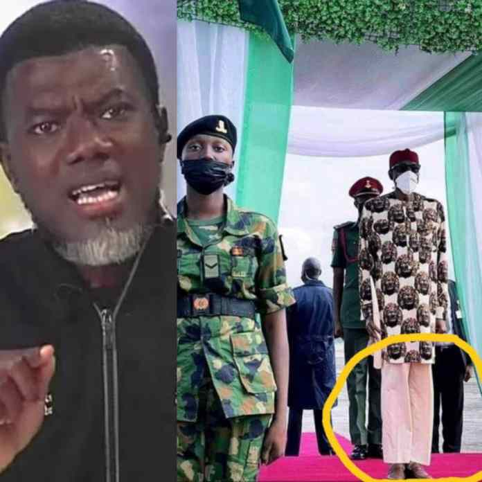 Was It Kyari The Tailor That Sewed This Trouser For You - Reno Mocks Buhari