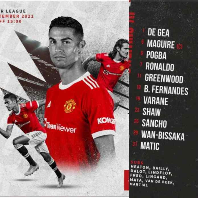 BREAKING: #MUNNEW - #Ronaldo Starts As Man United Face Newcastle [FULL LIST]