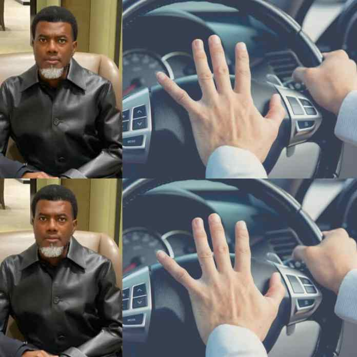 Remo Omokri Mocks Nigerians Using Car Horns To Greet, Call Children, Others