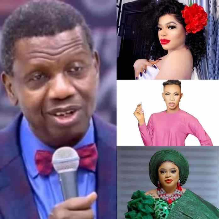 JUST IN: Pastor Adeboye Send Strong Warning To Bobrisky, Others