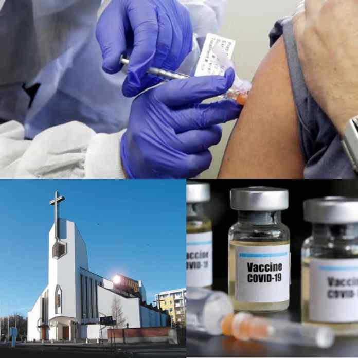 BREAKING: Buhari Led Govt To Vaccinate Christians Against COVID-19 In Church----The Genius Media Nigeria reports that the Federal Governmenthas announced that it will be making COVID-19 vaccinations available to Nigerians in Christian worship centres on Sundays.