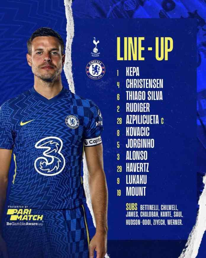#TOTCHE: Watch Free Live Stream Between Tottenham Hotspur vs Chelsea