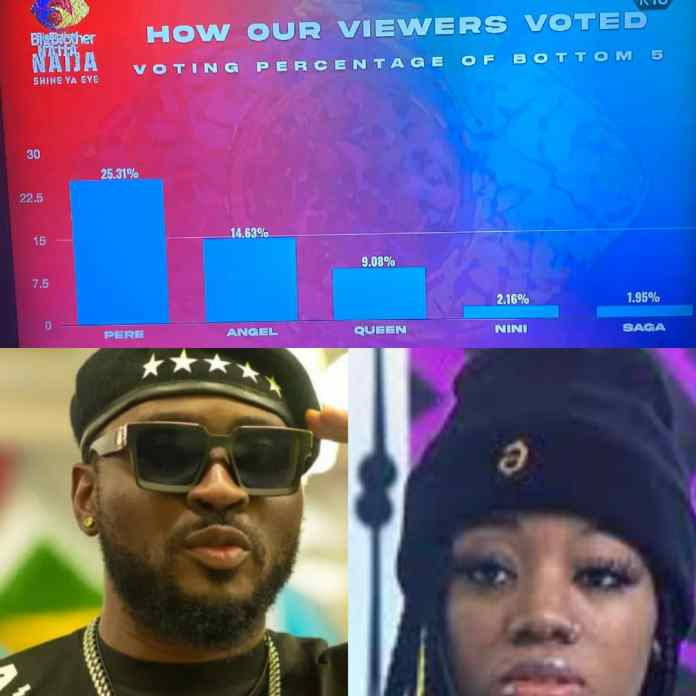 How #BBNaija Viewers Voted For Their Favorite Housemates - #JusticeForPere