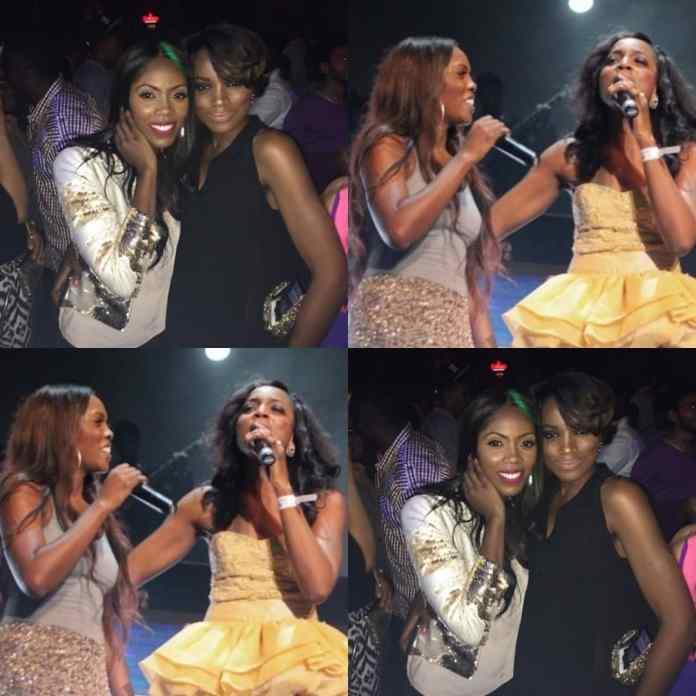 Singer Seyi Shay And Tiwa Savage Finally Reconcile