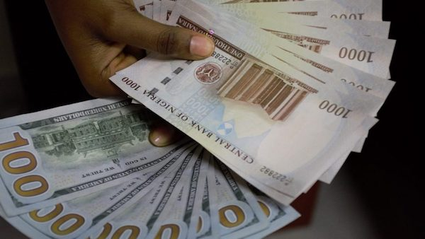 JUST IN: #Naira To US Dollar Sustains Gain At Official Market
