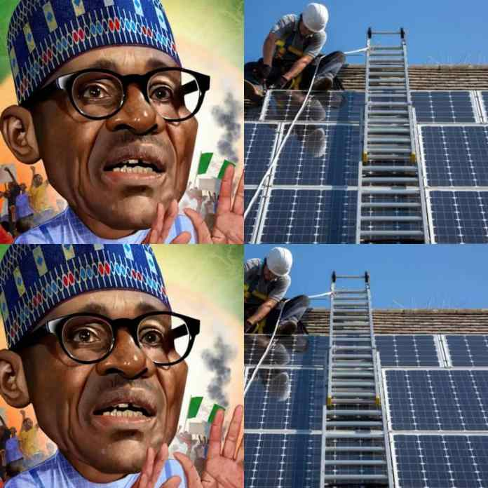 Buhari Govt To Provide Solar-Powered Electricity To Nigerians By 2023