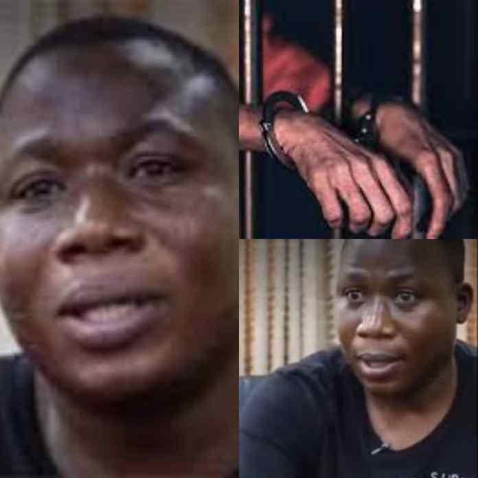 BREAKING: Sunday Igboho Turns 49 Inside Cotonou Prison