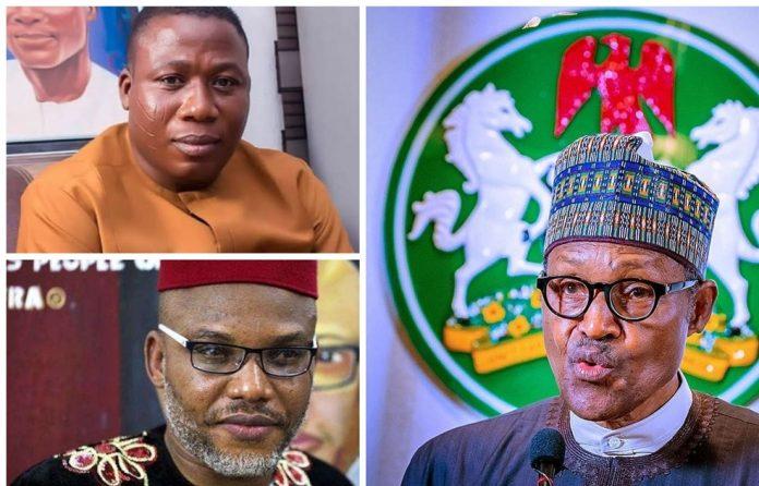 BREAKING: President Buhari Reveals Identity Of Igboho And Kanu Sponsors