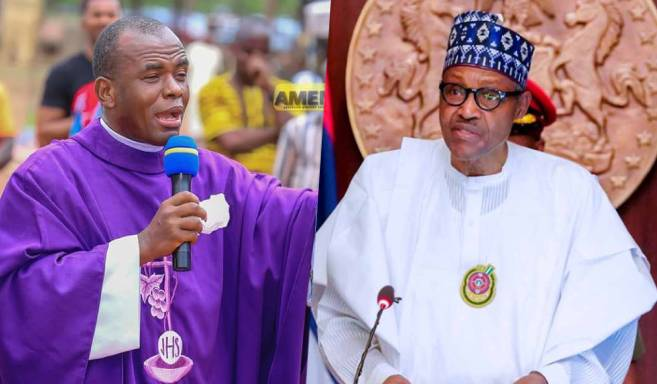 JUST IN: Rev. Father Ejike Mbaka Reveals How President Buhari Will Destroy Nigeria