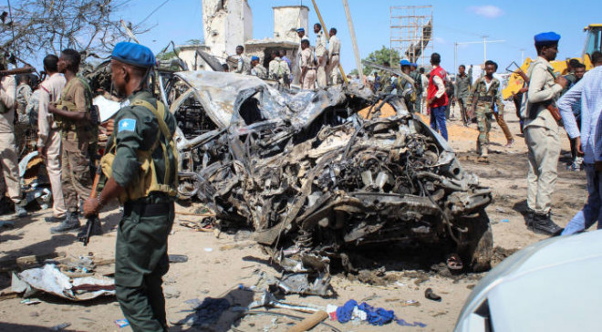 At least 17 people were killed in two separate incidents within Somalia as the country anxiously