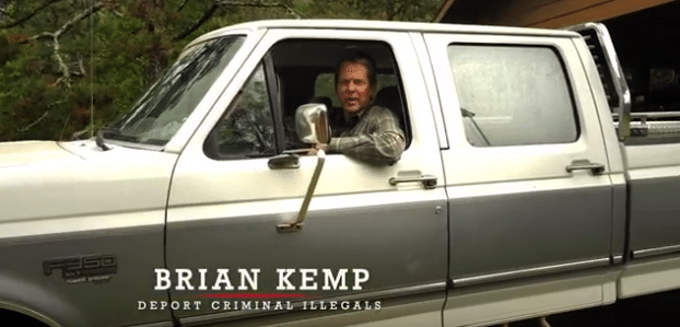 Brian Kemp's newest campaign ad appeals to 'politically incorrect' conservatives