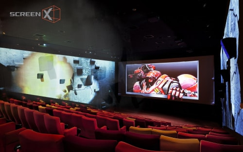 Atlanta just got its first 270-degree panoramic cinema