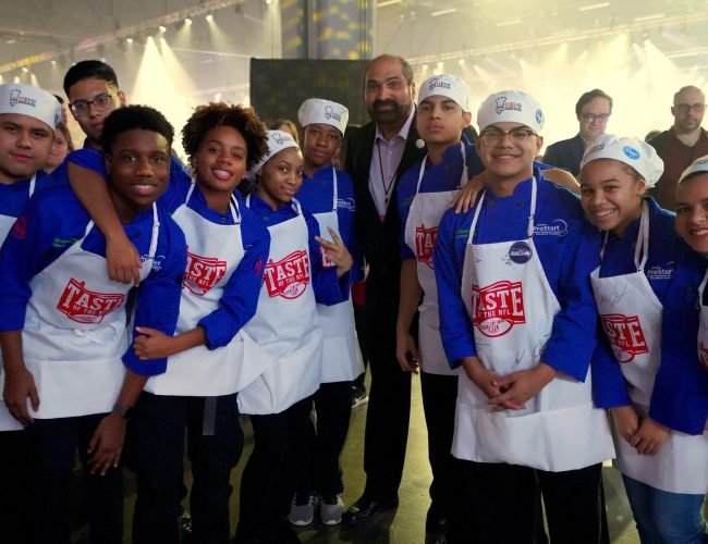 Georgia high school students had a chance to cook alongside celebrity chefs