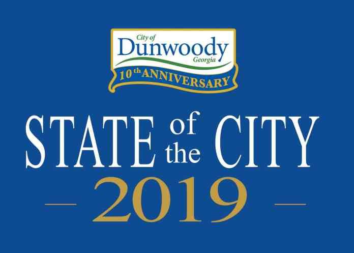 Dunwoody will celebrate 10 years of cityhood at this year's State of the City address