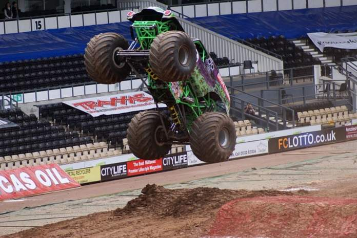 Grave Digger driver Krysten Anderson meet-and-greet at Mall of Georgia, August 28