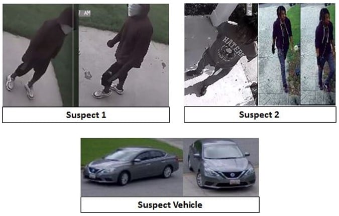 Caught on camera: Can you identify these burglars?