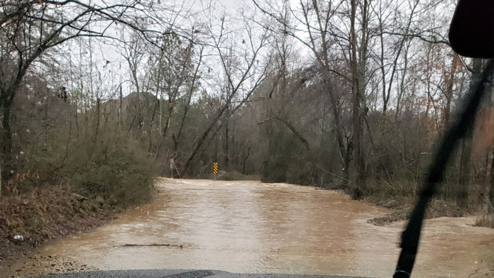 Weather Alerts: Storms cause traffic problems and closures around Georgia
